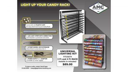 Candy Rack Lighting Kit